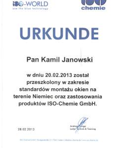 URKUNDE Zoma Kamil