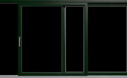 ciemno-zielony