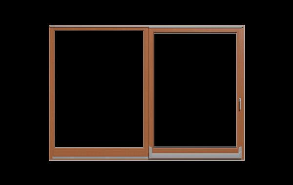 Drzwi balkonowe uchylno-przesuwne PSK – Softline