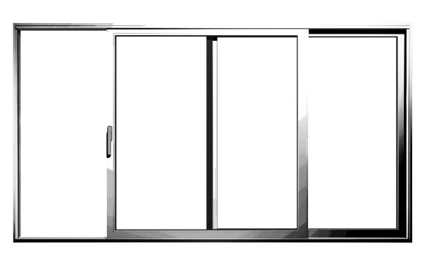 Aluminiowe drzwi tarasowe podnoszono-przesuwne MB-77 HS/MB-77 HS HI