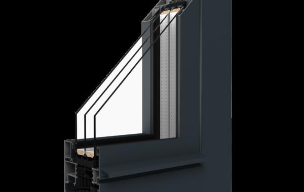 Okna aluminiowe MB-86SI